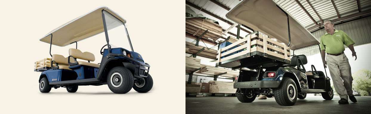 Image of Cushman Shuttle 4 for sale at Mid Florida Golf Cars